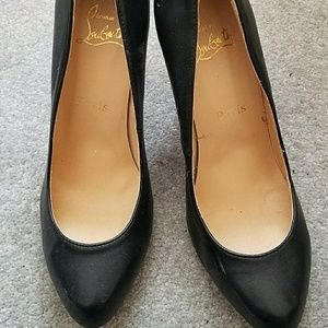 Christian Louboutin Pigalle Follies Leather Pumps